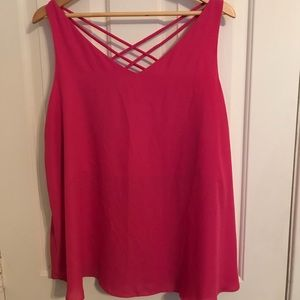 Tops - Reversible pink camisole